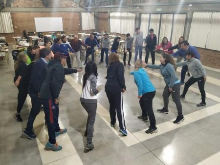 Taller vivencial en la Diplomatura en Actividad Física y Calidad de Vida