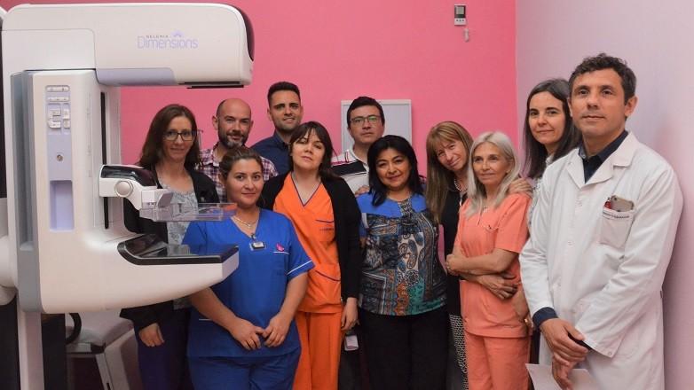 El Marcial Quiroga fue acreditado en Calidad para diagnosticar cáncer de mama