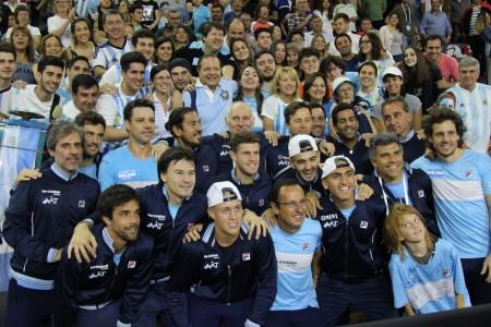 Fiesta final de la Copa Davis y otro aprobado para San Juan