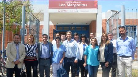 Salud entregó equipamiento al CAPS Las Margaritas