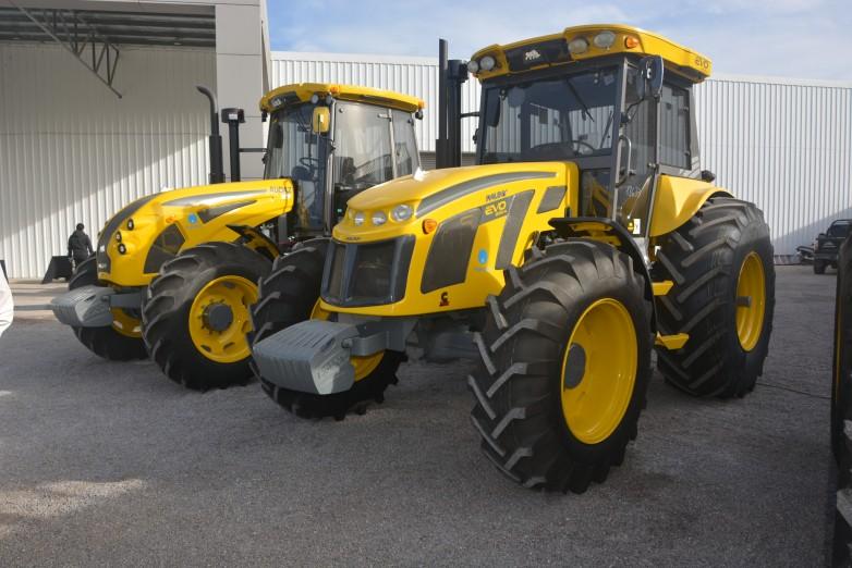 Gran interés en los créditos para compra de tractores