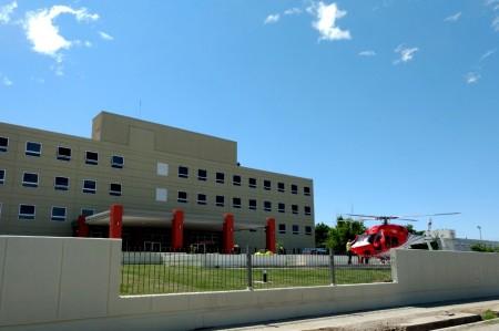 Se inauguró el primer helipuerto en un hospital de San Juan