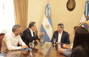El gobernador recibió al secretario de Turismo de la Nación