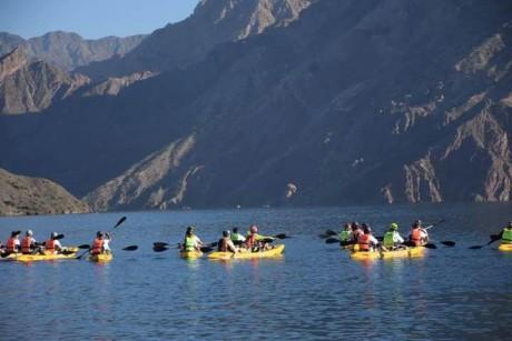 Punta Negra propone disfrutar del kayak en medio del gran espejo