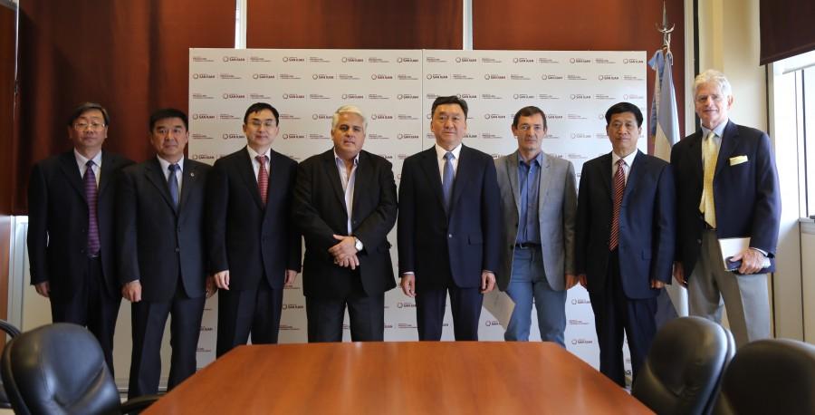 San Juan y China analizan implementar tecnología aplicada a la agricultura