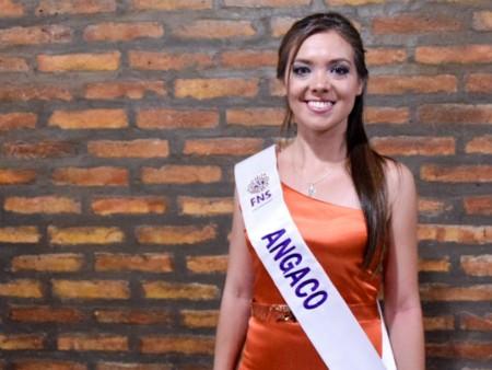 Brenda Uñate es la embajadora I de Angaco