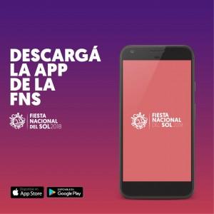 Descargá la aplicación de la Fiesta Nacional de Sol y seguila online