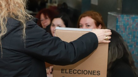 San Juan ya vive un nuevo acto eleccionario