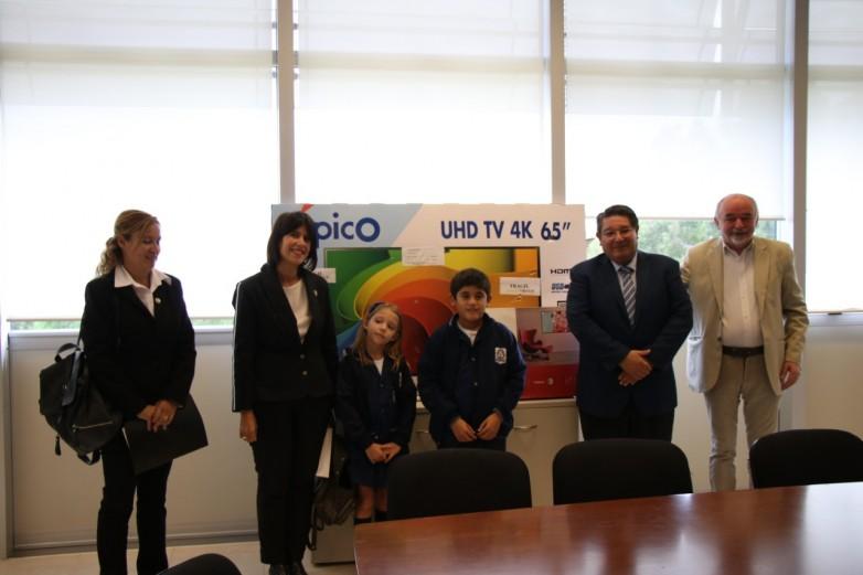 La Escuela Mercedes Gallardo Valdez fue galardonada por su conciencia ambiental