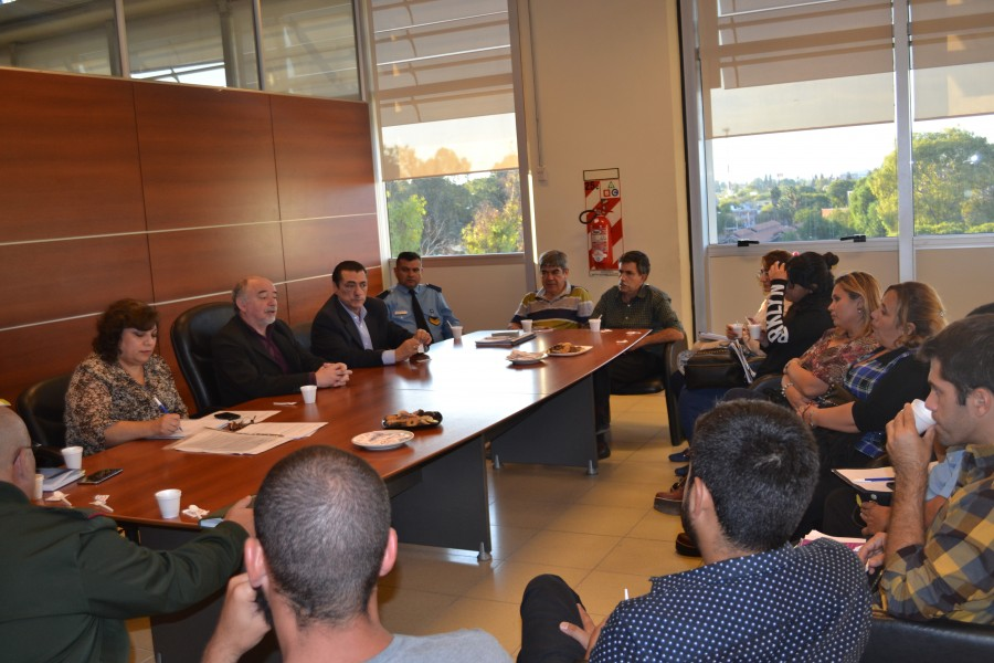 Analizando propuestas de temas a implementar, sesionó el Consejo de Ambiente
