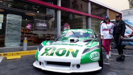 Exponen los autos de Agustín Canapino y Matías Rossi