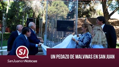 Un pedazo de Malvinas en San Juan | #SanJuanEnNoticias