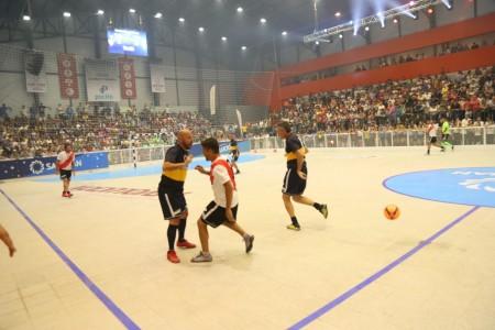 Superclásico en Pocito en el estreno del estadio Marcelo García