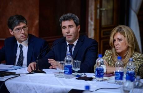 Gobernadores presentes en el Senado por el pago a los fondos buitres