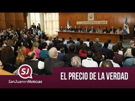 El precio de la verdad   #SanJuanEnNoticias