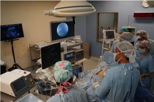 Una cirugía inédita y una gran opción para el Hospital Rawson