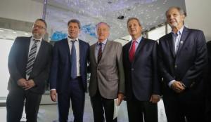 Sergio Uñac, Miguel Acevedo y el economista Matías Kulfas visitaron Anchipurac
