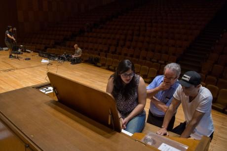 El órgano del Auditorio, la gran novedad musical del Espectáculo Final de la FNS
