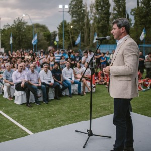 Albardón celebró su 153° aniversario con la inauguración de diversas obras
