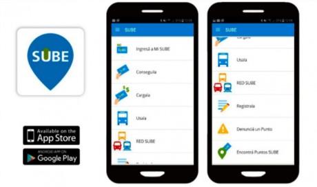 SUBE presenta su nueva app para Android e iOS