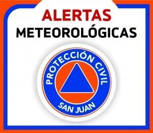 Alerta Meteorológico N° 020 por Lluvias Aisladas