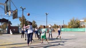 Gran encuentro de las Escuelas de Iniciación Deportiva de básquet