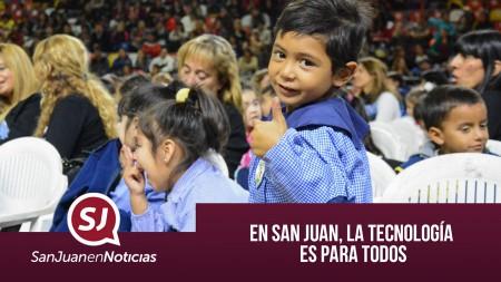 En San Juan, la tecnología es para todos