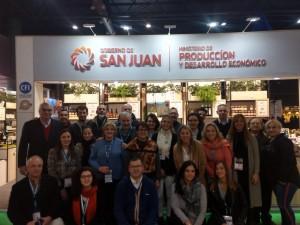 """Exitosa participación sanjuanina en la expo """"Caminos y Sabores"""""""