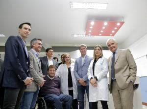 Uñac inauguró la primera clínica de neurorehabilitación que tiene la provincia