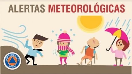 Alerta Meteorológica N° 27 - Frente frío
