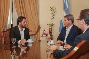 Uñac recibió al presidente de la compañía minera Fortescue Metals Group