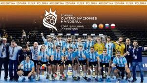 Todo lo que debés saber del Torneo Cuatro Naciones de Handball
