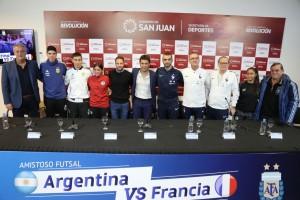 El mejor futsal se vive hoy en el Cantoni con Argentina vs Francia