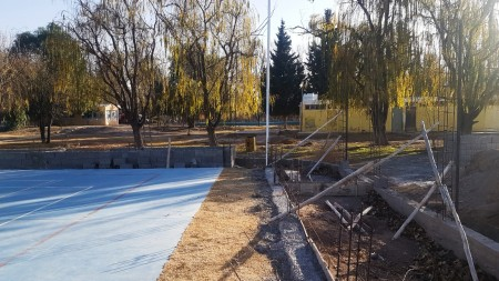 Más infraestructura deportiva en Ullum