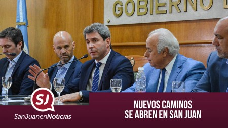 Nuevos caminos se abren en San Juan | #SanJuanEnNoticias