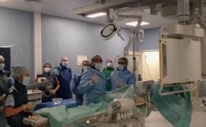 Novedoso tratamiento endovascular no quirúrgico en el Hospital Rawson