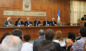 San Juan apuesta a la inversión: 1700 millones en Bono Fiscal