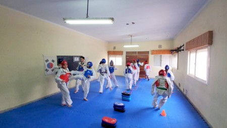 El taekwondo sanjuanino, en pleno desarrollo de cara a los Binacionales