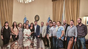Directores de Discapacidad del país presentaron sus saludos al gobernador