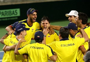 Un análisis de Colombia, el rival de Argentina en la Copa Davis