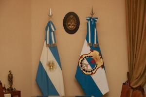 La Bandera Ciudadana engalana los despachos de la Gobernación