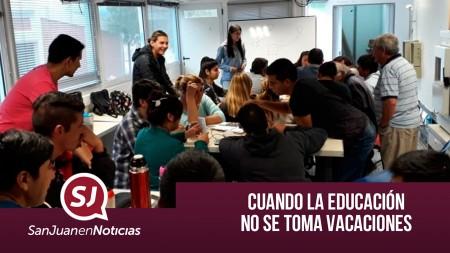 Cuando la educación no se toma vacaciones | #SanJuenEnNoticias