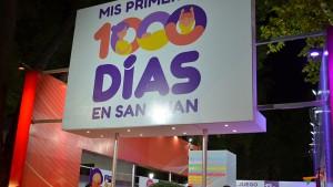 """Las familias sanjuaninas, el eje de """"Mis Primeros Mil Días"""""""
