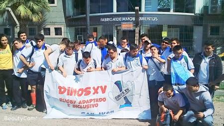Los Dinos XV vivieron un encuentro inclusivo en Mendoza