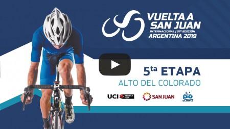 Volvé a ver la quinta etapa de la Vuelta a San Juan 2019