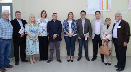 La ministra Venerando presidió el Foro Ciudadano de CoPESJ en Angaco