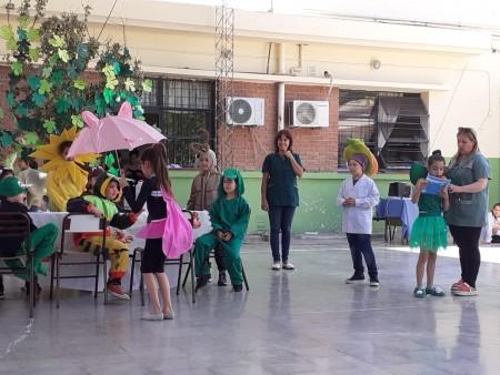 Se realizó la Feria del Libro de la escuela Aberastain de Pocito