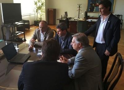 Positiva reunión con el Ministro de Energía y Minería nacional