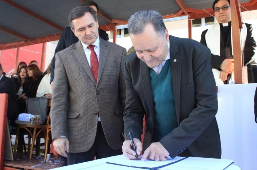 Jáchal: Minería y Desarrollo Humano firmaron convenio para incentivar la economía social