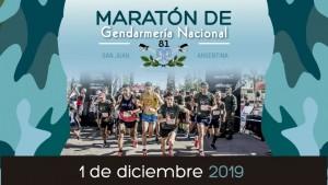 Gendarmería celebra su 81° aniversario con una maratón